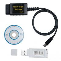 Buy cheap Renault + Nissan Car Key Transponder Programer 2 In1 , PC Software DEC Superscan from wholesalers