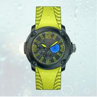 Buy cheap Fashion Men's  Silicone  Strap  Stainless steel wrist Watches with 6 watch hands from wholesalers