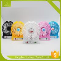 BS-5500 Colorful Electric Mini Table Battery Fan Manufactures