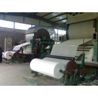 Buy cheap 2400mm Toilet tissue paper manufacturing machine. hemp toilet paper,napkin facial tissue production line For Sale from wholesalers