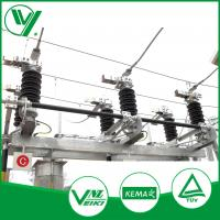 Buy cheap GW4 40.5KV Substation Type Low Voltage Disconnector With Manual Operated Mechanism from wholesalers