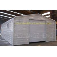 Buy cheap prefab steel garages kits design, garage shed for sale from wholesalers