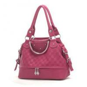 China Red pu Leisure bag ladies handbag on sale
