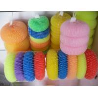 Buy cheap Durable Plastic Mesh Scouring Pads Three Years Long Lifetime For Kitchen Cleaning from wholesalers