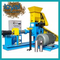 Buy cheap High Output Fish Feed Extruder Machine Made From Corn Wheat Customized from wholesalers