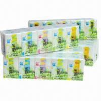 Wholesale Mini Pocket Tissue, Available in White, Measuring 21 x 15cm x 3-ply from china suppliers