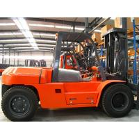 Buy cheap Diesel Powered Heavy Duty Forklift , Load Capacity 6 Ton Forklift 3m - 6m Lift Height from wholesalers