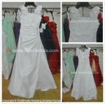 Buy cheap Satin Hand made flowers flower girl dress#LT2286-flower girl from wholesalers