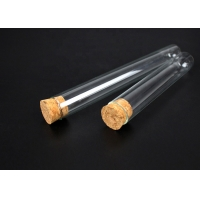 Buy cheap SGS Healthy Electroplating 6x30mm Stopper Test Tube from wholesalers