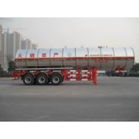 Buy cheap Gas Tanker Semi Trailer 39500L Capacity For Transport Propylene Oxide Liquiefied Property product