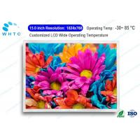 Buy cheap Wide Viewing Angle Industrial LCD Screen Monitor 15.0 Inch 1-CH LVDS Interface from wholesalers
