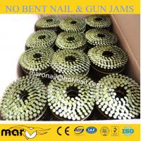 Buy cheap polished & electro-galvanized coil nail clavos from wholesalers