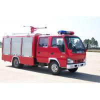 Buy cheap ISUZU 4*2 3cubic meters airport fire truck from wholesalers