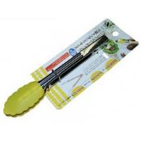Wholesale Small MOQ customized LFGB/FDA silicone kitchen bbq scissor silicone food tongs bakeware from china suppliers