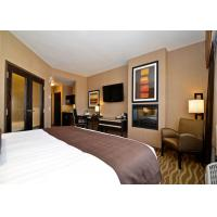 Buy cheap 4 Star European Modern Hotel Bedroom Furniture , Hotel Style Furniture from wholesalers
