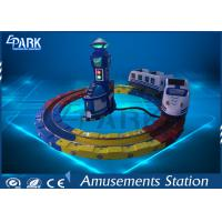 Buy cheap Attractive Kiddie Ride Machine Electric Train , Track Amusement Game Machine from wholesalers