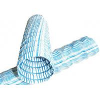 Buy cheap Geocomposite Drain Plastic Flexible Permeable Hose 20 - 200M Length With Iron Wire from wholesalers