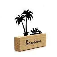 Buy cheap Creative Design Memo Clips Photo Holders Wooden Base Place Desk Wood Craft from wholesalers