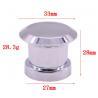 Buy cheap Silver magnetic metal Zamak perfume bottle cap perfume cap fashion custom from wholesalers