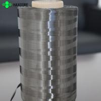 Buy cheap Good Conductive Property Black Carbon Fiber Carbon Fiber Filament Yarn For Sale from wholesalers