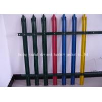 Security Defense Metal Palisade Fencing Anti Vandal For Residential Garden