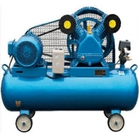 Buy cheap 380V 100 Litre Belt Driven Air Compressor Piston Industrial Electric from wholesalers