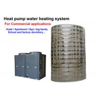 Wholesale 4.0 Cop Solar Powered Hot Water Heater Floor Standing Installation CE Approved from china suppliers