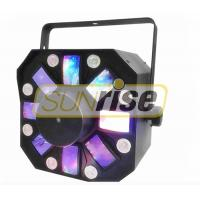 Buy cheap Dj Laser Light 12 Patterns Sound Activated Strobe , Led Laser Disco Lights from wholesalers