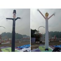 Buy cheap Inflated Air Sky Dancing Air Man , Eye - Catching Inflatable Advertising Man from wholesalers