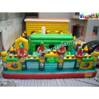 Wholesale Giant Inflatable Amusement Parks Customized For Events / Festivals from china suppliers