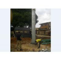 Buy cheap Outdoor Monopole Telecom Tower  Flanged or Overlap Type Telecommunication Tower from wholesalers
