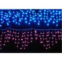 Quality Red / Bule LED Icicle Light Outdoor Low Power LED Strip Light Epistar Chip for sale