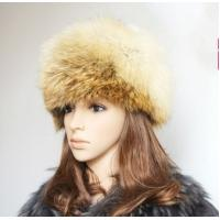 Buy cheap Ladies' fashion long-hair fox fur hat from wholesalers