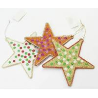 Buy cheap Wholesale Cheap Five-pointed Star Shaped Ornament for Christmas Decor from wholesalers