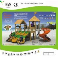 Buy cheap Colorful Wooden Series Outdoor Playground Equipment (KQ10152A) product