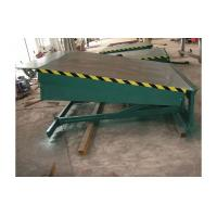 Buy cheap 8 ton hydraulic fixed dock leveler / electric dock leveler, 8000kg forklift container ramp from wholesalers