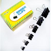 Buy cheap Black Binder Clips (15mm, 19mm, 25mm, 32mm, 41mm, 51mm) from wholesalers