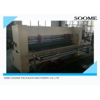 Buy cheap Independent NC Cardboard Slitting Machine Automatic Slitter Pre Creasing from wholesalers
