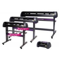 Buy cheap 48 Inch Vinyl Printer Plotter Cutter Machine 0.127mm Precision With Aluminum Main Roller from wholesalers