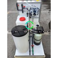 Buy cheap Swimming Pool Salt Water Electrolysis Sodium Hypochlorite Generation System 300g / H from wholesalers