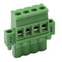 Copper Alloy metal housing 300V PCB plug in Terminal Block 5.08mm PA66 UL 94V-0 Manufactures
