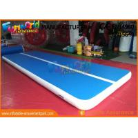 Wholesale 6m x 2m Inflatable Sports Games , Dwf Material Gymnastics Mat Air Tumble Track from china suppliers