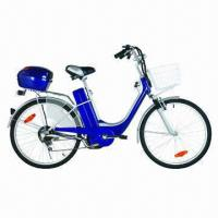 Buy cheap Electric City Bike with Steel Frame, Lead Acid/Lithium Battery, CE Certified from wholesalers