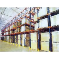 Buy cheap Q235B cold rolled steel Drive in Pallet Rack , Loading Capacity  1200KG from wholesalers
