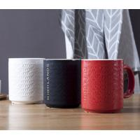 Buy cheap Hand made japanese style decorative drinkware elegant 300ml home hotel ceramic mug from wholesalers