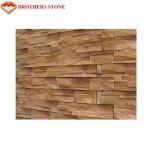 Buy cheap Good Size Faux Stone Panels Laguna Faux Stone Cappuccino Stone Panels from wholesalers