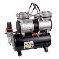 Buy cheap Two cylinder portable airbrush mini compressor AS-196 from wholesalers