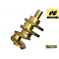 Wholesale Hino EM100 Car Engine Spare Parts Crankshaft HRC46 - 58 With Permanent Molds from china suppliers