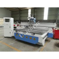 Buy cheap Heavy Duty Three Process Air Cooling Spindle Wood Cnc Router Machine With Side Rotary Axis from wholesalers