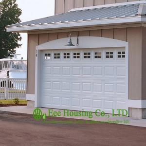 China Sectional Overhead Garage Door/Garage Entry Door/ Finger Safe Garage Door For Apartments on sale